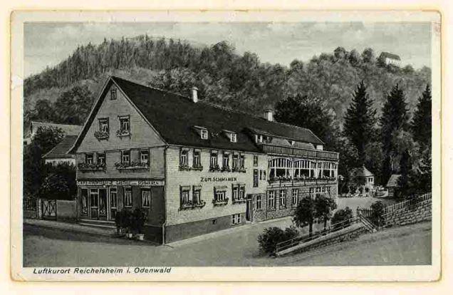 Schwanen 1925 klein